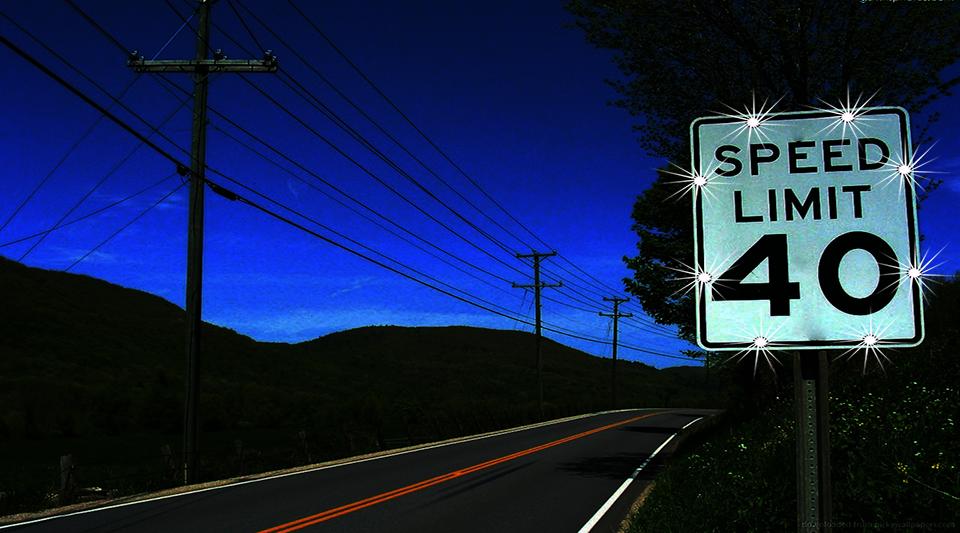 speed-limit-sign slider