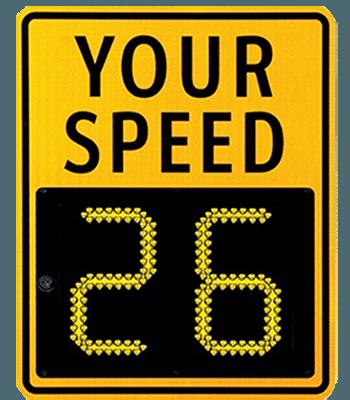 Speed Radar Signs